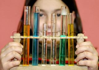 Bild von 'Naturwissenschaft, forschen, Kind'