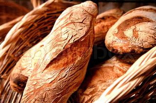 Image of 'bread, close-up, macro'