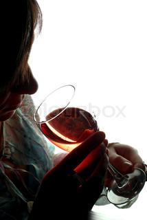 Billede af 'vin glas, misbrug, smag'