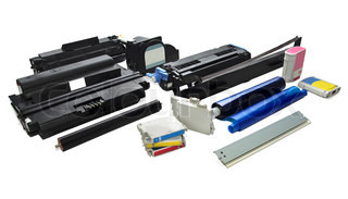 Spare parts and cartridges for printers