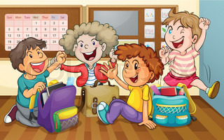Image result for kids animated in the classroom