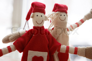Christmas elves used for decoration
