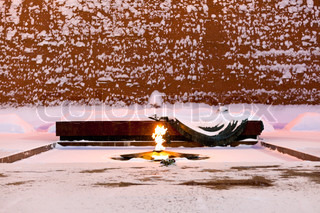 Eternal Flame of Tomb of the Unknown Soldier, Moscow