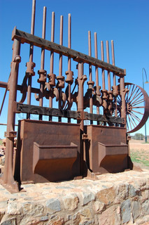 Gold mining industrial monument