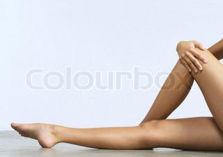 Image of 'leg, legs, female'