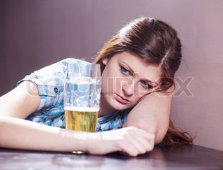 woman withbeer