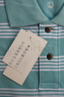 Instructions on shirt's label