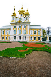 Palace in Peterhof St Petersburg Russia
