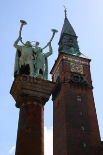 Billede af 'rådhus, københavn, København'