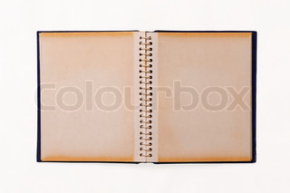 photo album isolated on white background