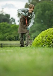Image of 'garden, gardening, person'