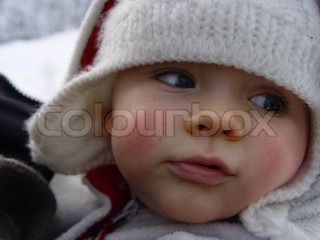 Image of 'child, winter, cold'