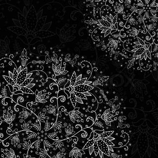 Schwarzer Hintergrund Mit Muster