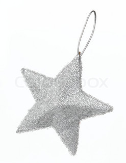 Christmas decoration - a silver star