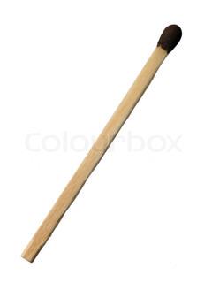 Close up image of a matchstick