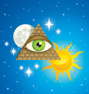 pyramid with the eye