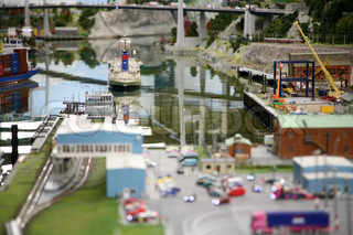 Image of 'railway, harbours, model'