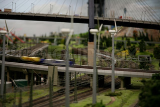 Image of 'railway, model, miniature'