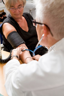 Billede af 'blodtryk, læge, patient'