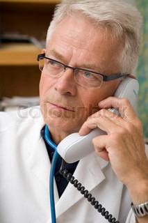 Billede af 'læge, telefoner, telefon'