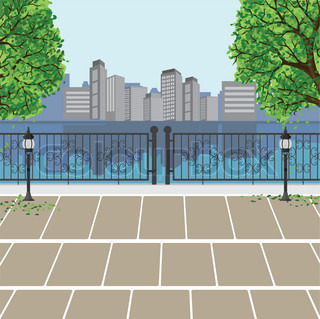 city park vector - photo #35