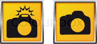 icons camera for design illustration