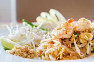 Pad thai is Thai food