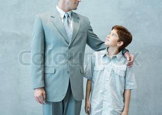 Image of 'parent, teenage, boy'