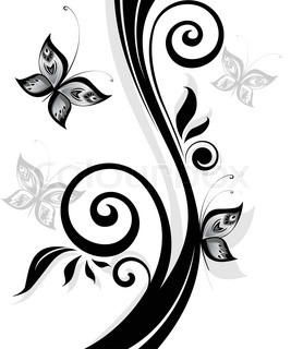 Real foot imprint footprint and foot steps foot print vector and black floral print mightylinksfo Image collections