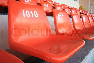 Seat for watchsome sport or football