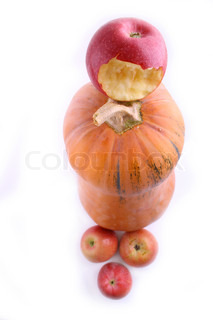 pumpckin and apples