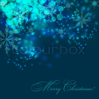 AbstractChristmas and New Year background vector illustration