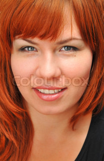 portrait of redheaded girl