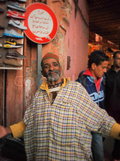 Man in Morocco