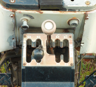 Four Speed Tractor Gearshift