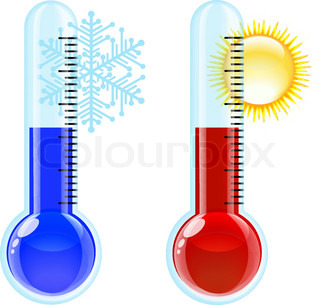 Thermometer Hot and Cold icon