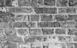 Texture of old brick wall for background