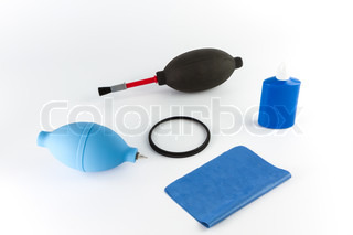 Cleaning camera set