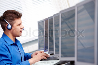 In the computer class