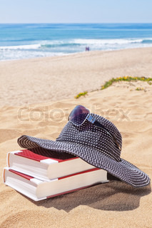 Panama for the sun and reading books on the beach against the sea Sunglasses