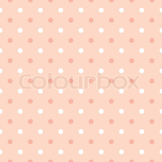 seamless  polka Dots background vector