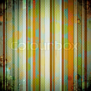 Abstract crumpled retro background Vector Illustration