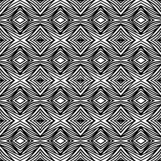 Vector seamless geometric black and white pattern with organic lines Texture for web, print, fashion textile
