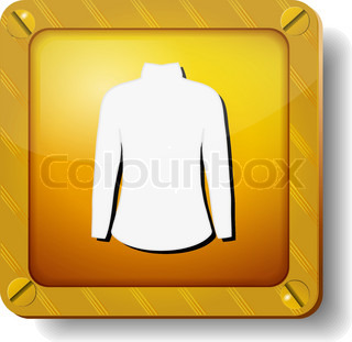 golden dress icon