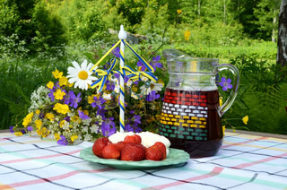 Symbols of the Swedish Midsummer