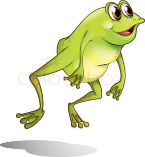 Green Frog Clipart gop_fgts
