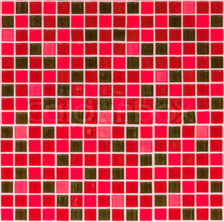 Red Tiles Texture For Background