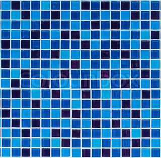 blue tiles texture for background