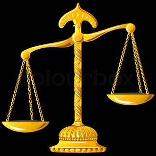 vector gold scale of justiceUnbalanced Scale Of Justice Vector