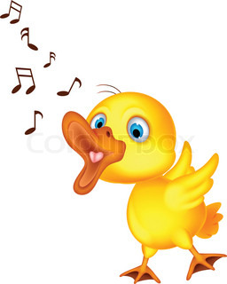Image result for cute cartoon of animals singing